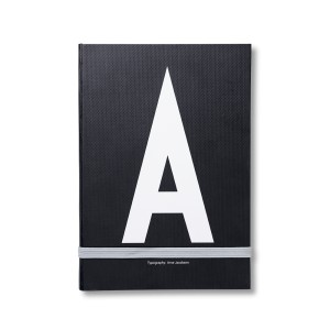 OSOBISTY NOTEBOOK  A-Z  DESIGN LETTERS